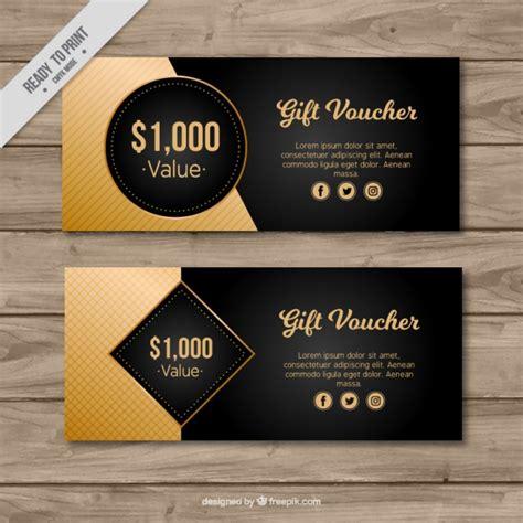 coupon  gift voucher templates vector