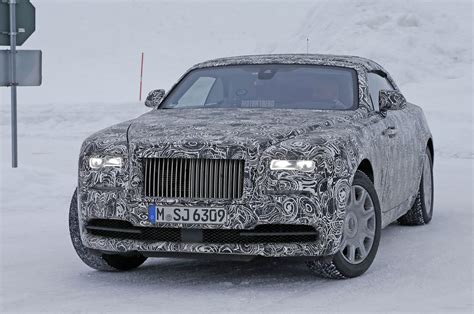 Rolls Royce Dawn Confirmed As Next Drophead Lands Early 2016