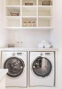 Shelves, Over, Washer, Dryer