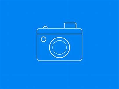 Camera Svg Icon Vector Animated Flash Lens