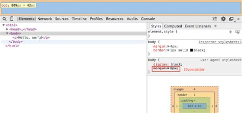 developer tab elements chrome tools web using figure override viewing