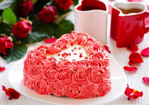 cuore  rose torta  san valentino dolci del cuore