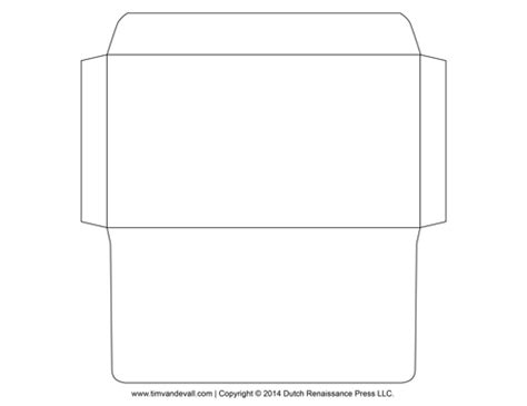printable envelope template downloadable envelopes