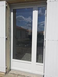 porte fenetre pvc composium realisation de la menuiserie With porte d entrée pvc avec fenetre pvc sur mesure renovation