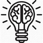 Creativity Icon Creative Idea Brain Bright Human