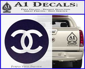 chanel logo stickers kamos sticker With kitchen cabinets lowes with penn state car sticker