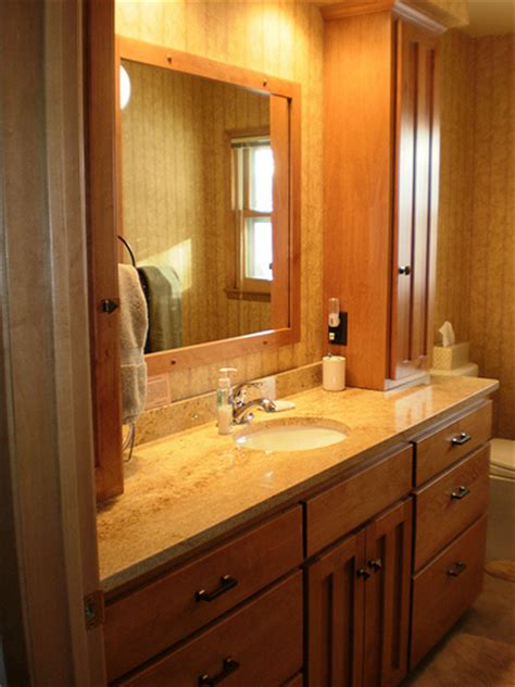birch bathroom vanity and tower cabinets flickr photo