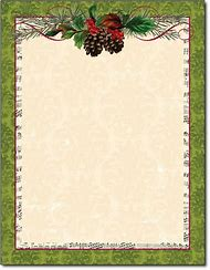 free christmas holiday stationery templates
