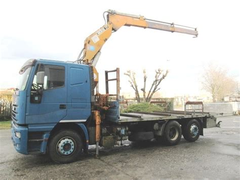 Iveco Eurostar 240e47 Flatbed Truck From Italy For Sale At