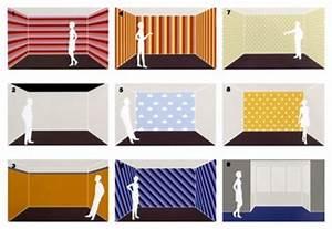Tapeten Badezimmer Beispiele : tapeten und farben ver ndern raumproportionen wohnen ~ Markanthonyermac.com Haus und Dekorationen
