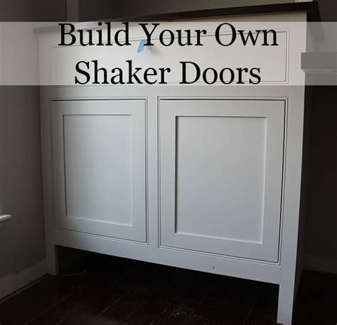 how to build cabinet doors how to build shaker cabinet doors with a router diy