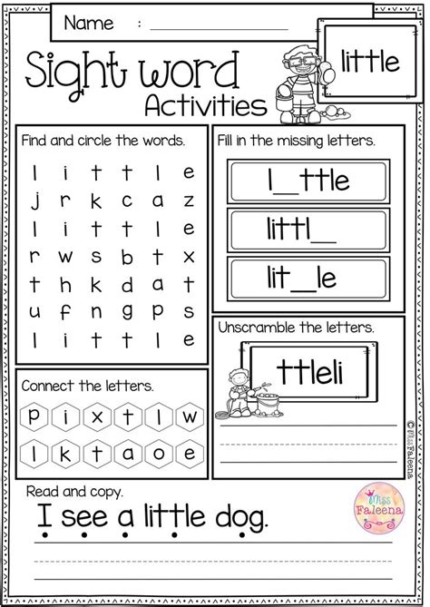 132 best sight words images on teaching 818 | 72d2b99ef04e193ab6456dfe2bdb6bb1 sight word worksheets first grade worksheets