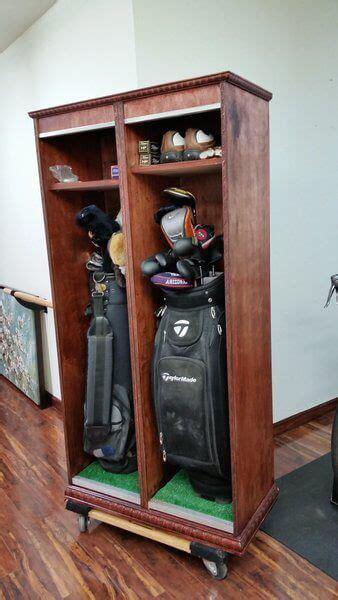 golf locker golf diy golf room golf decor