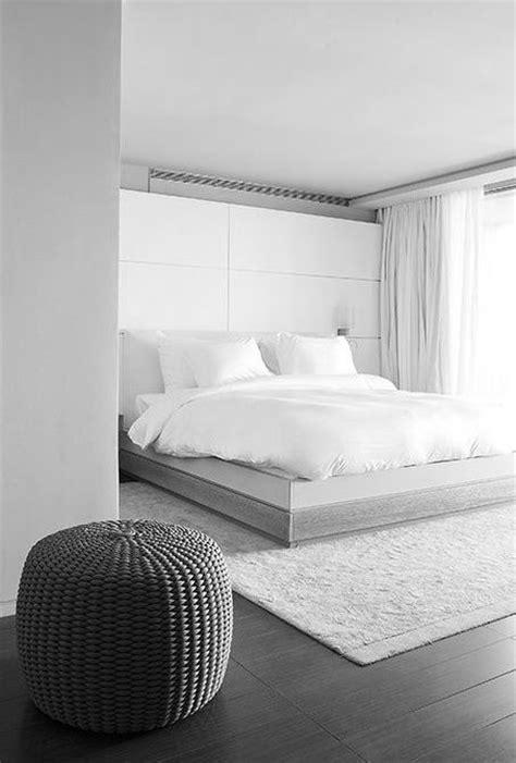 34 Stylishly Minimalist Bedroom Design Ideas - DigsDigs