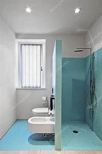 Mosaik Fliesen Dusche : gemauerte dusche im modernen badezimmer mit mosaik fliesen sanit rkeramik h user in 2019 ~ Orissabook.com Haus und Dekorationen