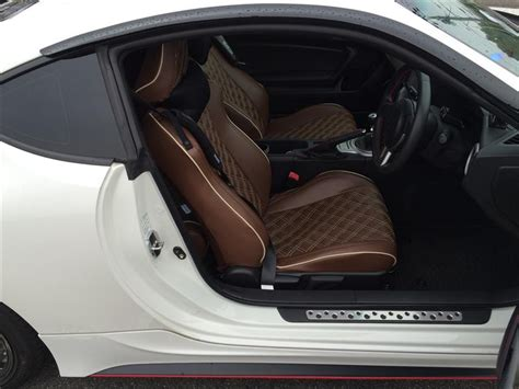 Clazzio Quilted Seat Covers For 86, Fr-s & Brz (12-16