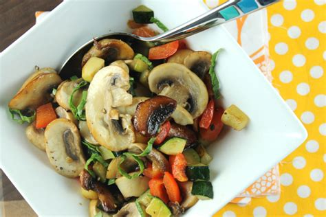 how to saute vegetables sauteed vegetables with lemon and basil recipe paleo plan