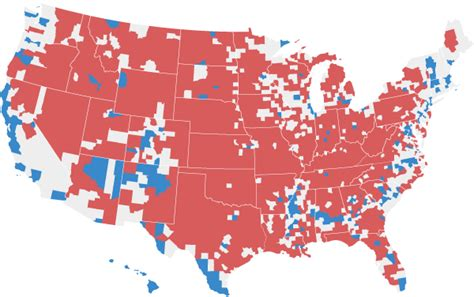 divide  red  blue america grew  deeper