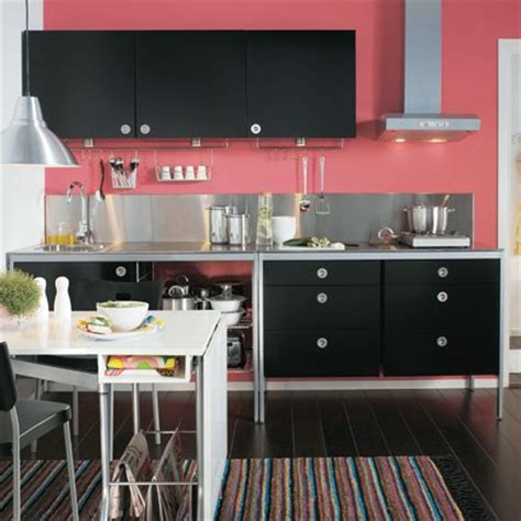 meuble cuisine noir ikea cuisine udden maison