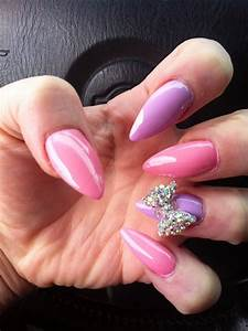 24 beautiful nails with bows fashion design
