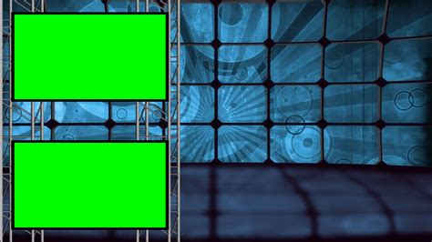 Free Green Screen Backgrounds Retro Background Set With Green Screens Stock