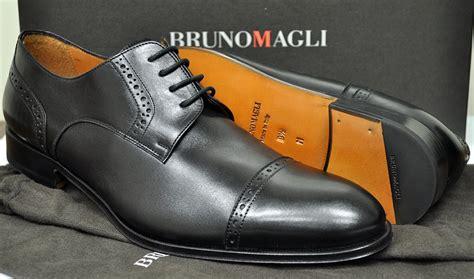 Sepatu Bruno Magli Made In Italy new bruno magli mens shoes calvon cap toe blucher black