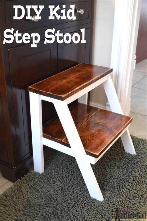 kids step stool  tool belt