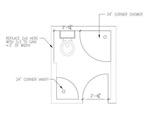 bathroom design layout ideas 5 39 x 6 39 bathroom layout ideas for the house