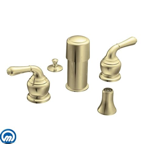 Moen Monticello Faucet Cartridge Replacement by Moen T5270p Polished Brass Handle Bidet From The