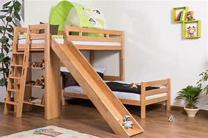 Great and Cool Bunk Beds with Slide for Kids atzine com