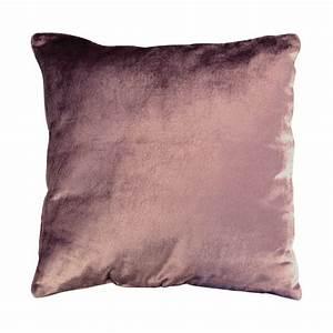 Housse De Coussin 30x30 : housse de coussin en lin et viscose 40x40 violet ~ Dailycaller-alerts.com Idées de Décoration