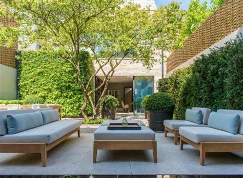 mobilier de chambre à coucher petit jardin idées pour un joli petit espace