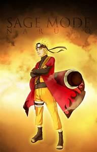 Naruto's Sage Mode | Daily Anime Art  Naruto