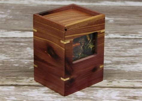 Magic The Gathering Edh Deck Box by Magic The Gathering Custom Quot Aromatic Cedar Maple