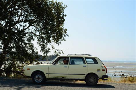 subaru wagon 1980 old parked cars 1979 subaru dl 4wd wagon