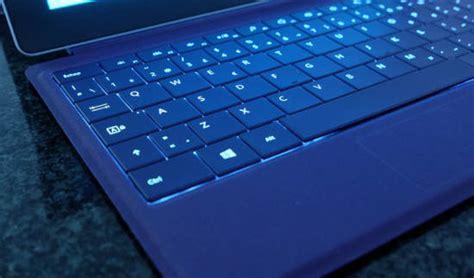 microsoft surface type cover  backlit laptop keyboard