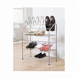Range Chaussure Metal : range chaussures en m tal 18 paires maison fut e ~ Teatrodelosmanantiales.com Idées de Décoration