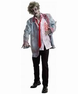 Adult Zombie Man Halloween Costume - Men Costumes