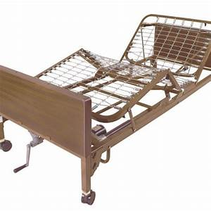 Semi Electric Hospital Bed Frame Only Dynquest Medical
