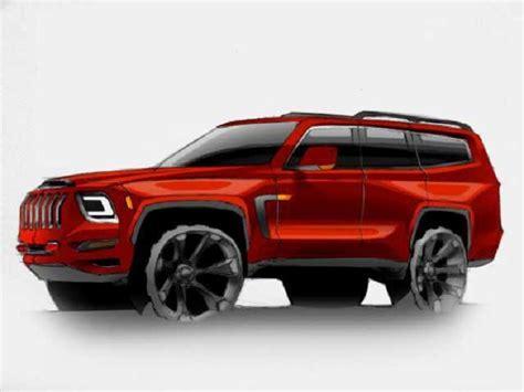 jeep grand wagoneer interior release date woody