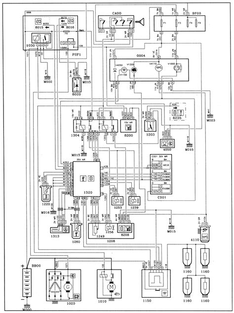 peugeot 806 and expert engine type dhx xud9btf bosch as3 vp20 injection wiring diagrams