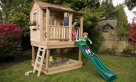 How To Turn Your Kids Outdoor Playhouse Into A Fort
