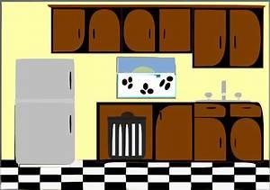 Model Kitchen Clip Art at Clker.com - vector clip art ...