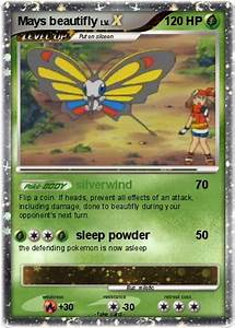 Pokémon Mays beautifly - silverwind - My Pokemon Card