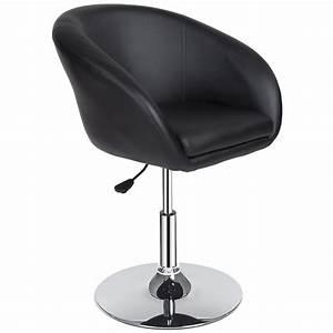 Chaise Bar Reglable : tabouret de bar chaise fauteuil bistrot r glable pivotant si ge design noir ~ Teatrodelosmanantiales.com Idées de Décoration