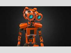 Humanoid robot Download Free 3D model by