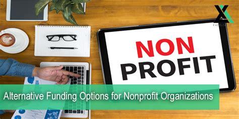 alternative funding options  nonprofit organizations