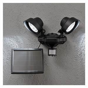 Projecteur Exterieur Double : double projecteur solaire detecteur de mouvement achat ~ Edinachiropracticcenter.com Idées de Décoration