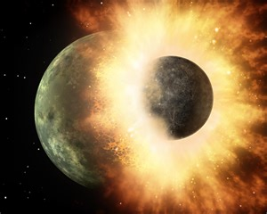 energie sprüche moon formed from earth collision with planet sized new evidence science wire earthsky