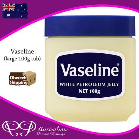 vaseline large tub vaseline large 100g gram tub petroleum jelly for